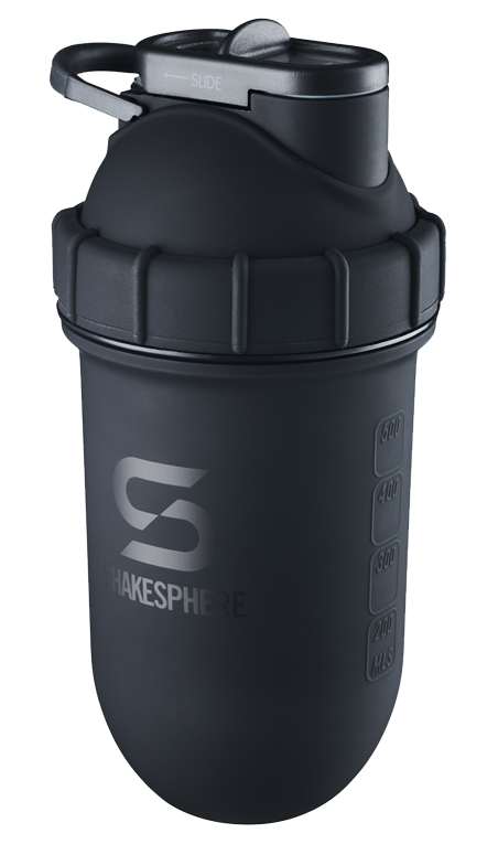 24.6 Fl Oz ShakeSphere Tumbler Double Wall Steel Matte Black