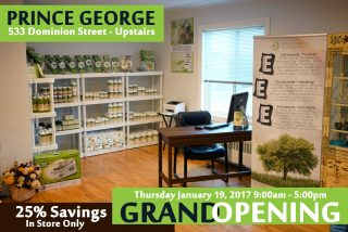 GRAND OPENING – PRINCE GEORGE STORE