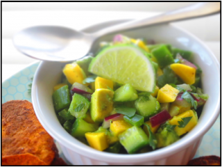 SIMPLE BUT SPICY CUCUMBER SALAD