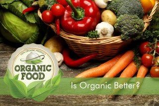 IS ORGANIC BETTER FOOD?