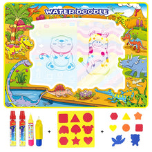 Load image into Gallery viewer, Dinosaur Magic Water Doodle Mat