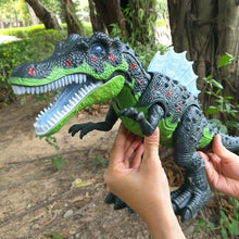 Load image into Gallery viewer, Walking Spinosaurus LED Toy
