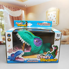 Load image into Gallery viewer, Crazy Dinosaur LED Teeth Game Toy