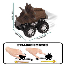 Load image into Gallery viewer, Mini Pull Back Dinosaur Cars (Pack of 6)