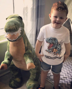 Nameasaurus Personalised Dinosaur T-Shirt