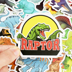 Dinosaur Stickers (Pack of 50)