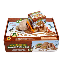 Load image into Gallery viewer, Dig & Discover Dinosaur Eggs (Pack of 12)