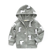 Load image into Gallery viewer, Dinosaur Casual Hoodie
