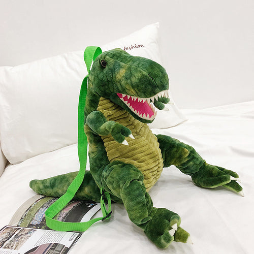 Dinosaur Plush Backpack