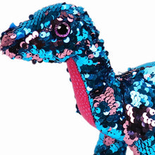 Load image into Gallery viewer, Dinosaur Sequin Plush Toy