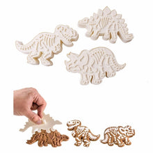Load image into Gallery viewer, Dinosaur Cookie Cutters
