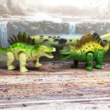 Load image into Gallery viewer, Walking Stegosaurus LED Toy