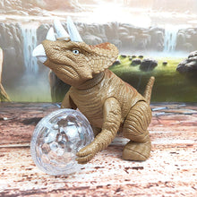 Load image into Gallery viewer, LED Disco Ball Dinosaur Toy