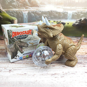 LED Disco Ball Dinosaur Toy