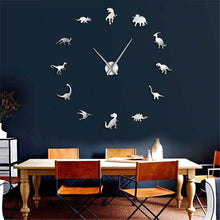 Load image into Gallery viewer, DIY Jurassic Large Wall Clock