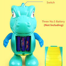 Load image into Gallery viewer, Musical Dinosaur LED Dancing Toy
