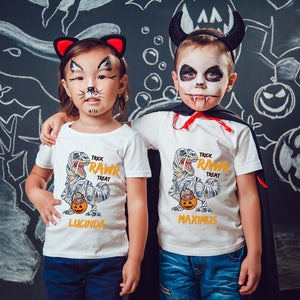 Mummysaurus Personalised Halloween T-Shirt