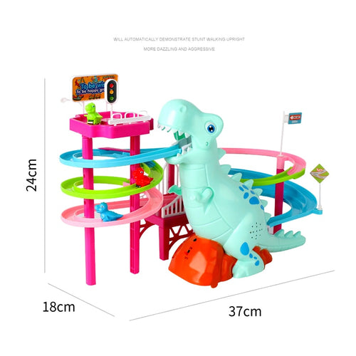 Musical Dinosaur LED Race Toy
