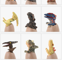 Load image into Gallery viewer, Realistic Semi-Hatched Dinosaur Eggs (Set of 12)
