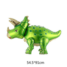 Load image into Gallery viewer, 4D Movable Dinosaur Foil Balloon