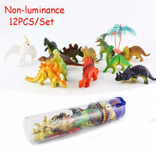 Load image into Gallery viewer, Luminous Mini Dinosaur Figures (Pack of 12)