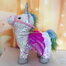 Load image into Gallery viewer, Walking Unicorn Plush Toy
