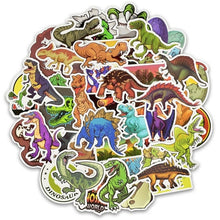 Load image into Gallery viewer, Dinosaur Stickers (Pack of 50)