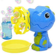Load image into Gallery viewer, Dinosaur Bubble Machine Toy
