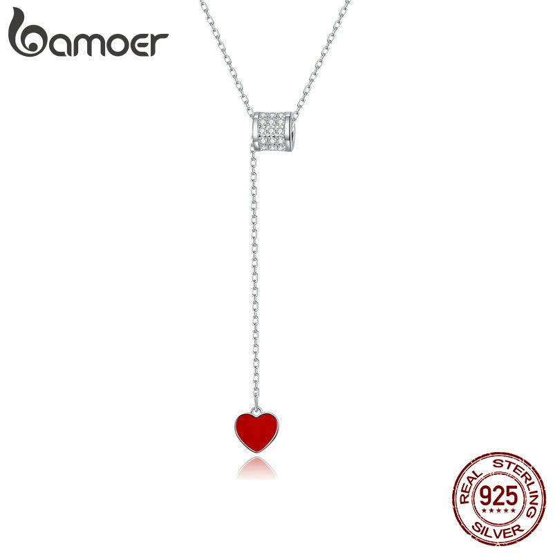 bamoer 925 Sterling Silver Pendant Necklace Doctor Loving Waist Necklaces Health Professional Gift Jewelry necklace SCN424