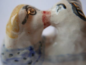 Kissers - A Ceramic Ornament