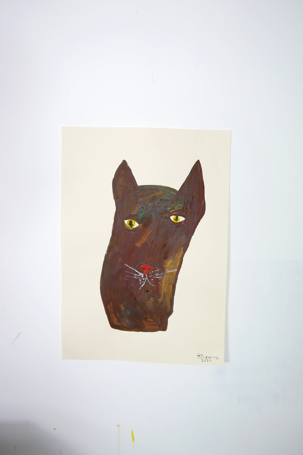 The Giant Cat Collection - Original Painting - Pixie