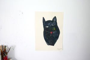 The Giant Cat Collection - Original Painting - Pip