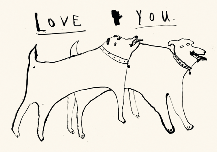 Love You (Dogs in Love)