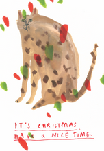 It's Christmas Have a Nice Time (Cat)