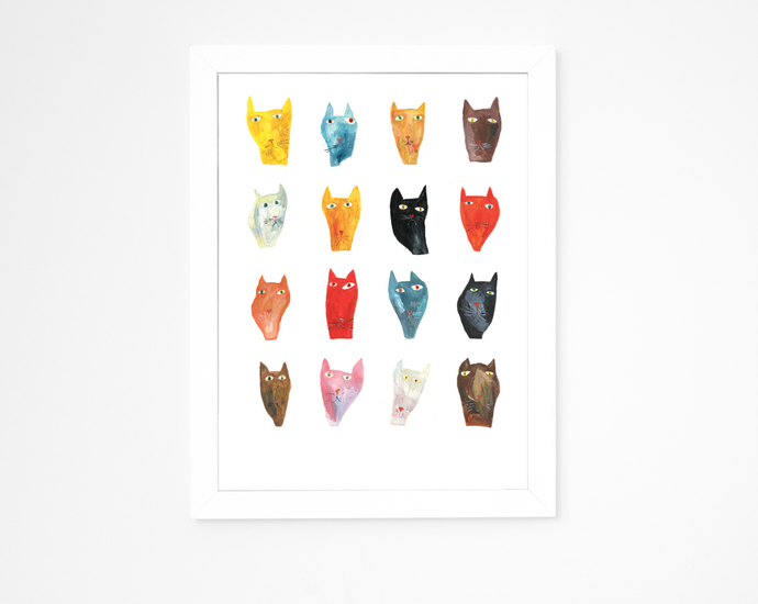 Big Cat Big Cat Where Are You | Giclee Art Print
