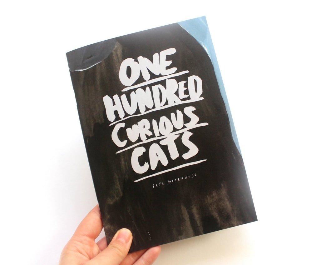Zine / Picture Book - One Hundred Curious Cats - Second Edition