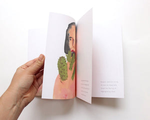Watercolour Art Zine. A Catalogue of Things Ingested Issue 2. Illustrated book / zine. Limited Edition