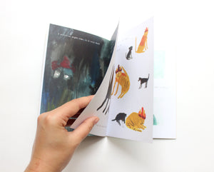 Picture Book / Illustrated Zine - Birken Cat Goes to ... Iceland | second edition