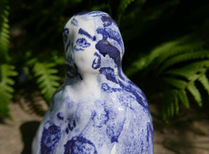 Ceramic Figure | A Nice Lady | Original Faye Moorhouse Pottery | Free International Shipping