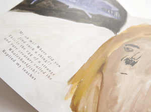 EGG - Illustrated Zine | Picture Book | Story || Faye Moorhouse