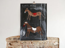 Fierce Horse Fierce Horse 002 | Large Painting on Paper