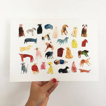 Giclee Art Print || Some Dogs || FAYE MOORHOUSE