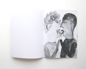 TRUE LOVE | New bound version | A black and white staple bound Zine by Faye Moorhouse
