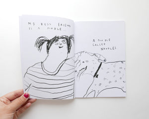 NOODLES - Limited Edition Comic Illustrated Zine by Faye Moorhouse