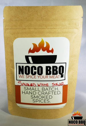Smoked white sugar