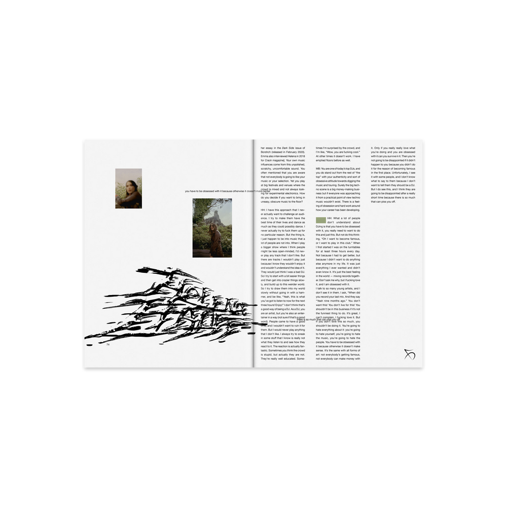 borshch magazine issue 6 (helena hauff cover)