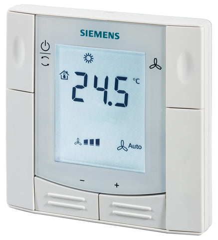 Flush-mount room thermostat