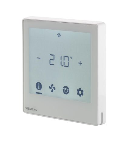 Touch screen room thermostats RDF800xx