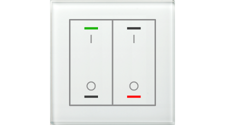 Glass Push Buttons II Lite