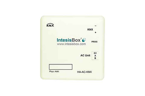 Intesis Haier VRF and commercial lines systems to KNX Gateway